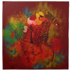 Colourful Thoroughbred  Racehorse Napkins