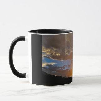 Colourful thunderstorm tendency mug
