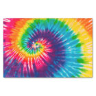 Colourful Tie Dye Pattern Tissue Paper