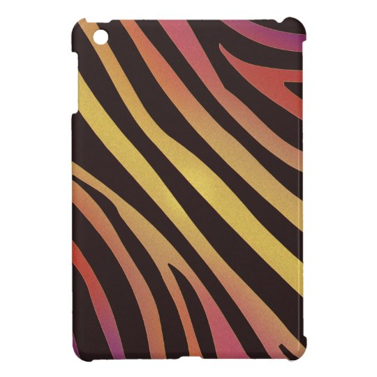 Colourful Tiger Animal Print Cover For The iPad Mini