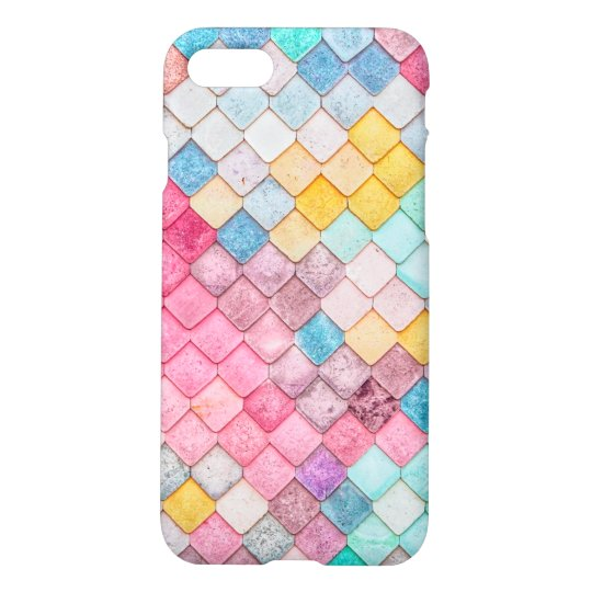 Colourful Tile Pattern iPhone 8/7 Case