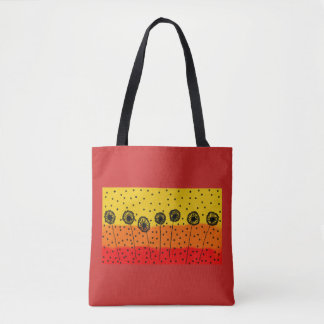colourful tote bag modern design