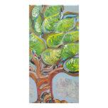 Colourful Tree Customized Photo Card