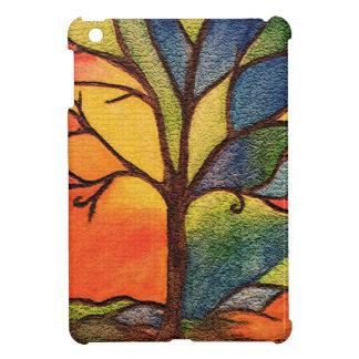 Colourful Tree iPad Mini Case