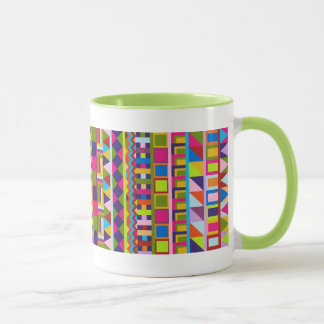 Colourful trendy patterns Mug