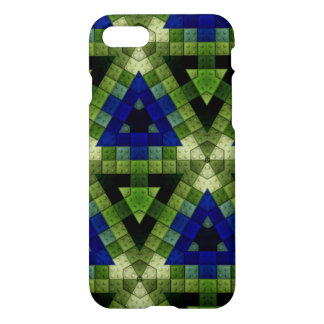 Colourful triangle block pattern iPhone 8/7 case