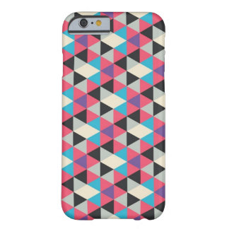 Colourful Triangle Pattern Barely There iPhone 6 Case