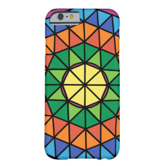 Colourful Triangles Barely There iPhone 6 Case
