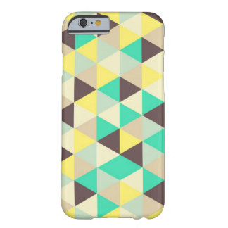 colourful triangles on iPhone case