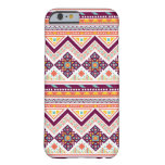 Colourful Tribal Aztec Chevron Zig Zag Pattern Barely There iPhone 6 Case