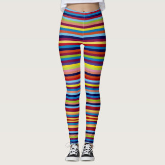 Colourful trips Leggings