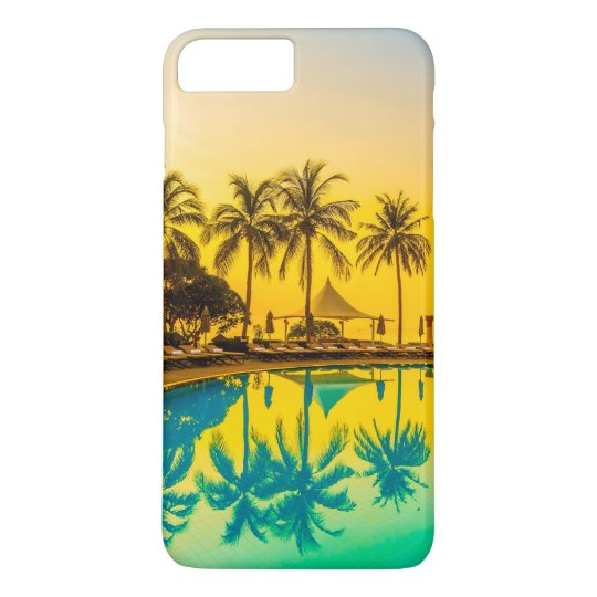 Colourful Tropical Sunset & Palm Trees | Phone iPhone 8 Plus/7 Plus Case