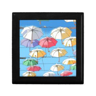 Colourful Umbrellas Gift Box