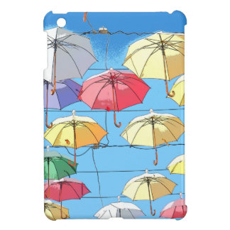 Colourful Umbrellas iPad Mini Case