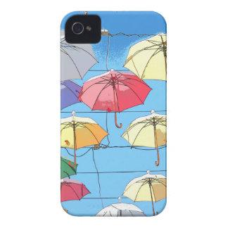 Colourful Umbrellas iPhone 4 Covers