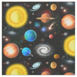 Colourful Universe Astronomy Space Fabric
