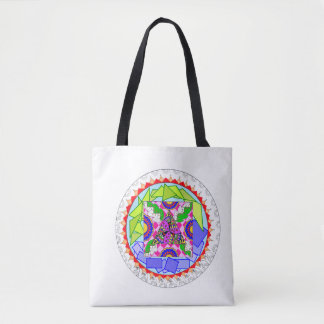Colourful vibrant design-Work in Progress-Tote bag