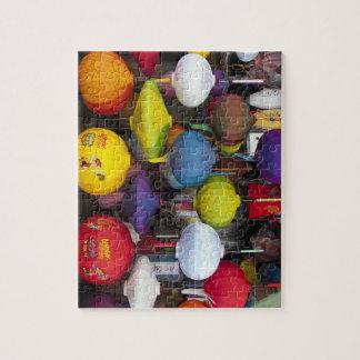 Colourful Vietnamese lanterns Jigsaw Puzzle