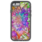 Colourful Vintage Floral Pattern Drawing Tough Xtreme iPhone 6 Case
