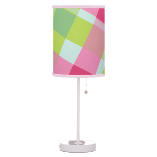 Colourful vivid chequered - Table Lamp