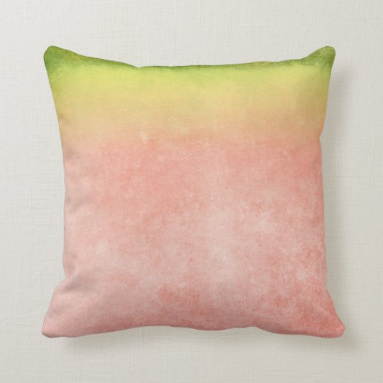 Colourful Watermelon Rainbow Throw Pillow