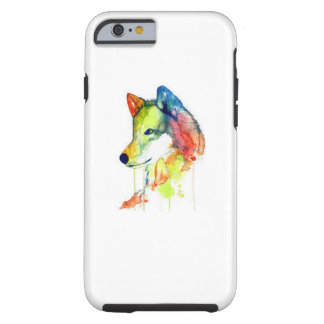 Colourful Wolf Phone Case