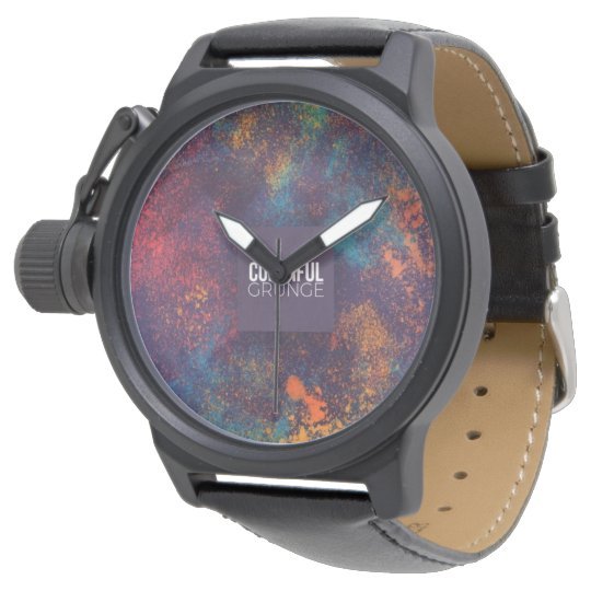 colourful wrist watches