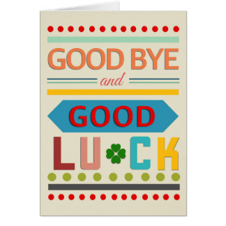 Colourgraphy Good Luck Card