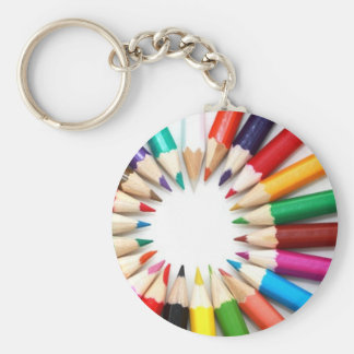 Colouring Pencils Keychain