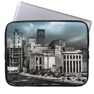 Colourized B+W Photography factory Laptop Sleeve