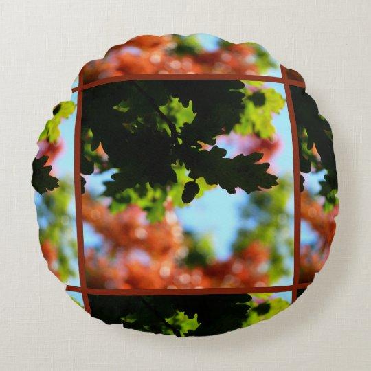 Colours of Autumn 02.2 Round Pillow