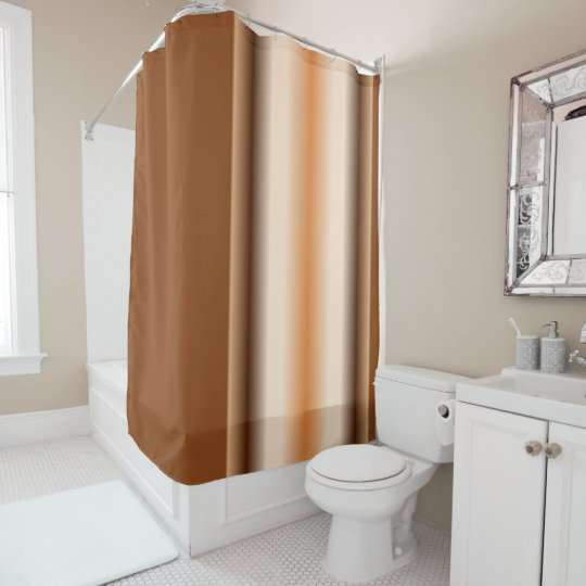 Colours of Brown Shower Curtain
