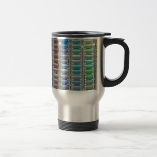Colours of cotton travel mug