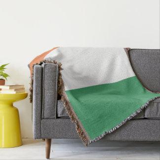 Colours of Ireland Flag. Throw Blanket
