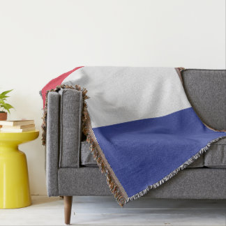 Colours of Italy Flag. Throw Blanket