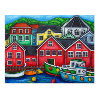 Colours of Lunenburg Post Card