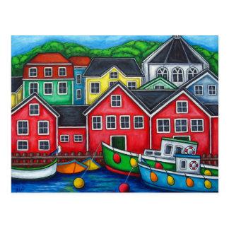 Colours of Lunenburg Post Card