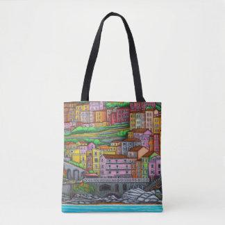 Colours of Manarola Bag By Lisa Lorenz