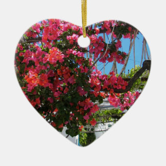 Colours of Nyssiros Ceramic Heart Ornament
