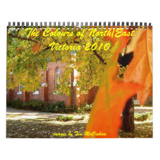 Colours of the North/East Wall Calendar