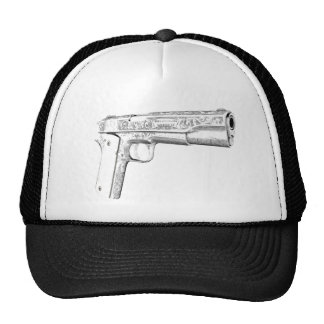 Colt pistol trucker hat