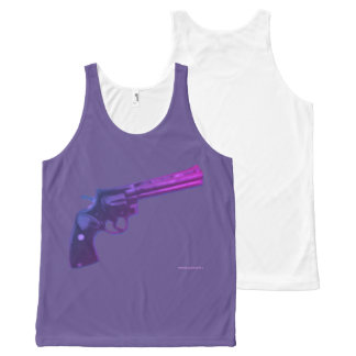 Colt Python Violet tense All-Over-Print Tank Top