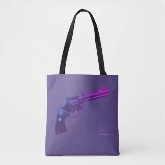 Colt Python Violet Tote Bag