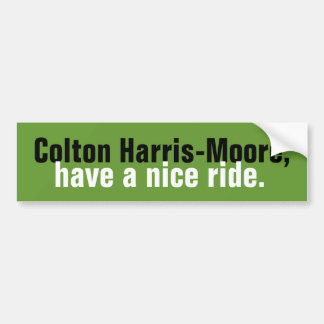 Colton Harris-Moore Bumper Sticker