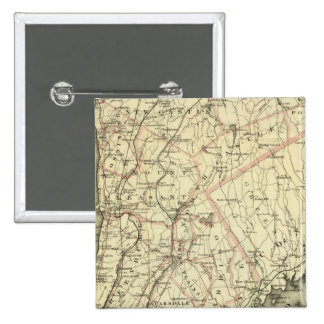 Colton's Driving and Wheeling Map of the US 2 2 Inch Square Button