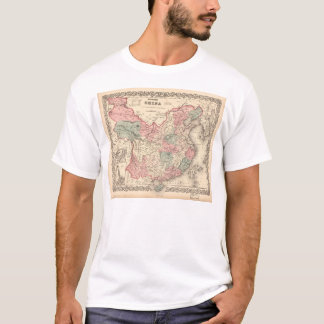 Colton's Map of China (1871) T-Shirt