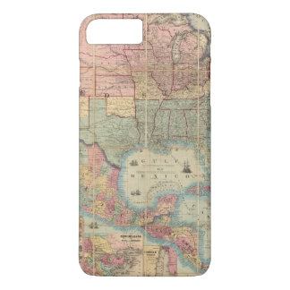 Colton's Railroad And Military Map iPhone 7 Plus Case