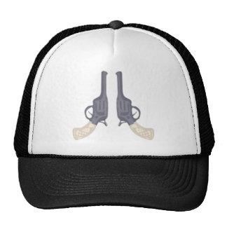 Colts gun pistols pistols mesh hats