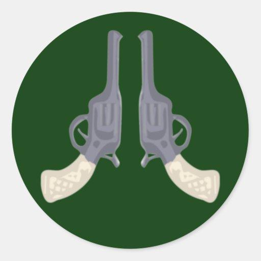 Colts gun pistols pistols round stickers