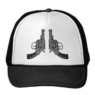 Colts Revolver Pistolen pistols Trucker Kappe